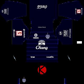 Buriram United Kits 2017 -  Dream League Soccer