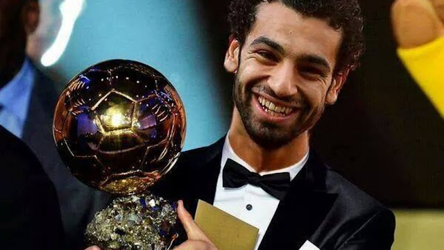 محمد صلاح يتوج كأفضل لاعب في أفريقيا 2018