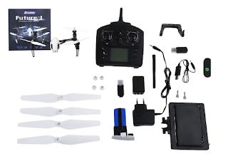 Spesifikasi WLToys Q333A - OmahDrones