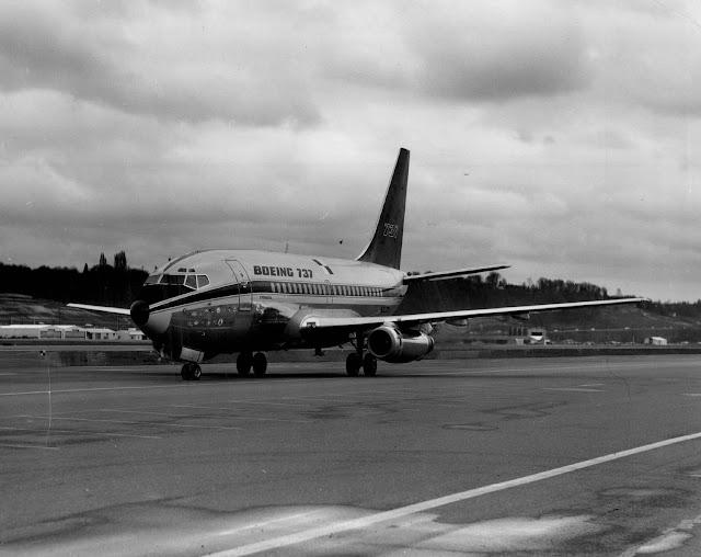 İlk Boeing 737 - 9 Nisan 1967