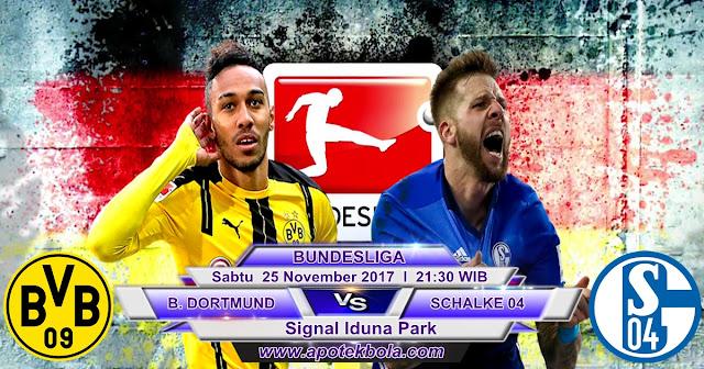 Prediksi Borussia Dortmund vs Sahalke 25 November 2017