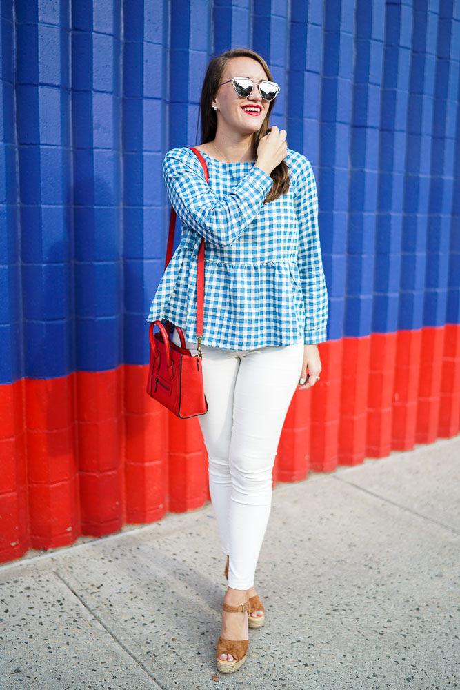 Gingham, Gingham Clothes, Gingham Top