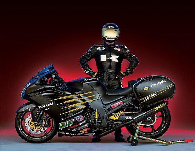 Kawasaki Ninja ZX-14R Nitrous Tourer