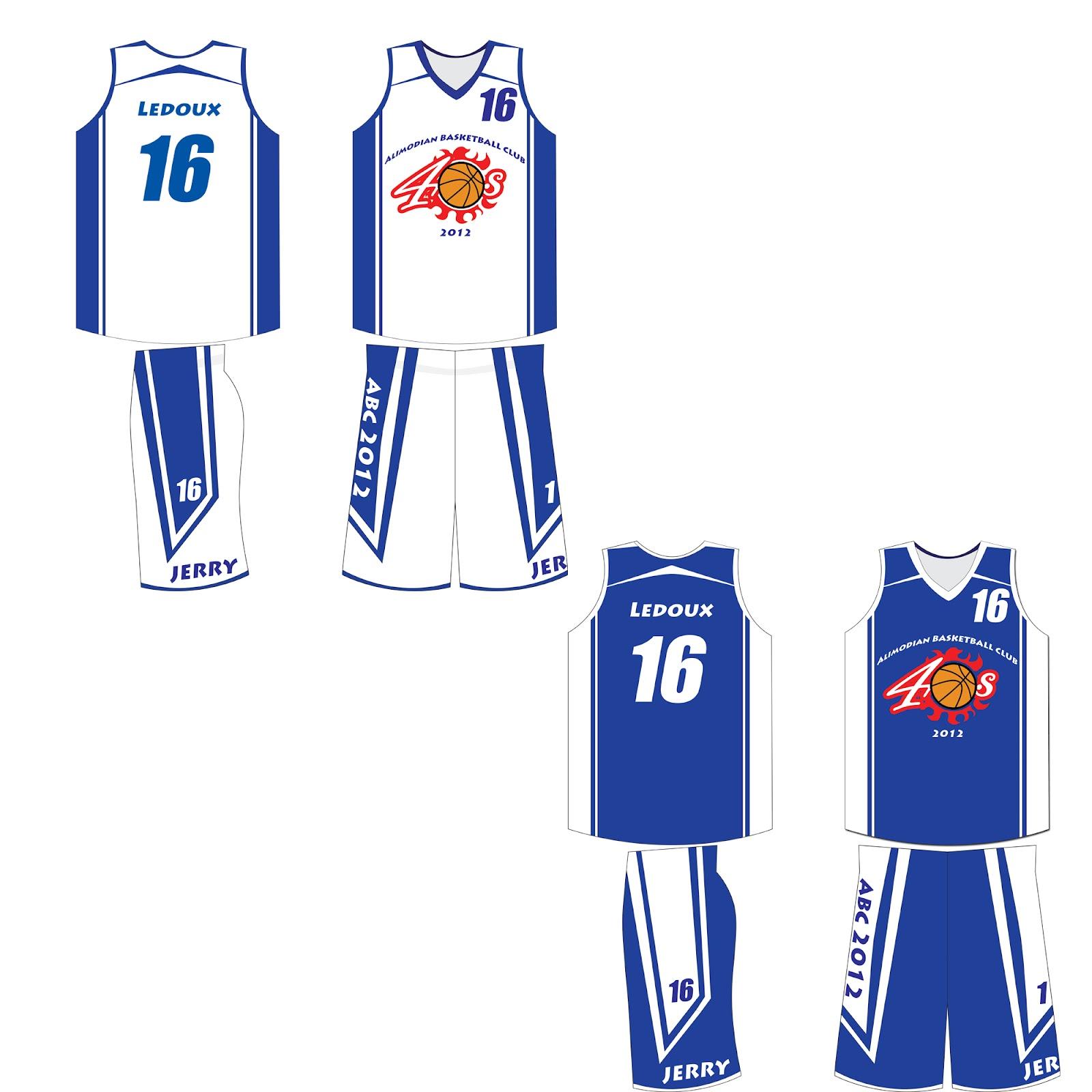 Basketball Uniform Designer 32