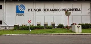 Lowongan Kerja Terbaru di Cikarang : PT NGK Ceramics Indonesia - Mechanical Maintenance/Operator Produksi