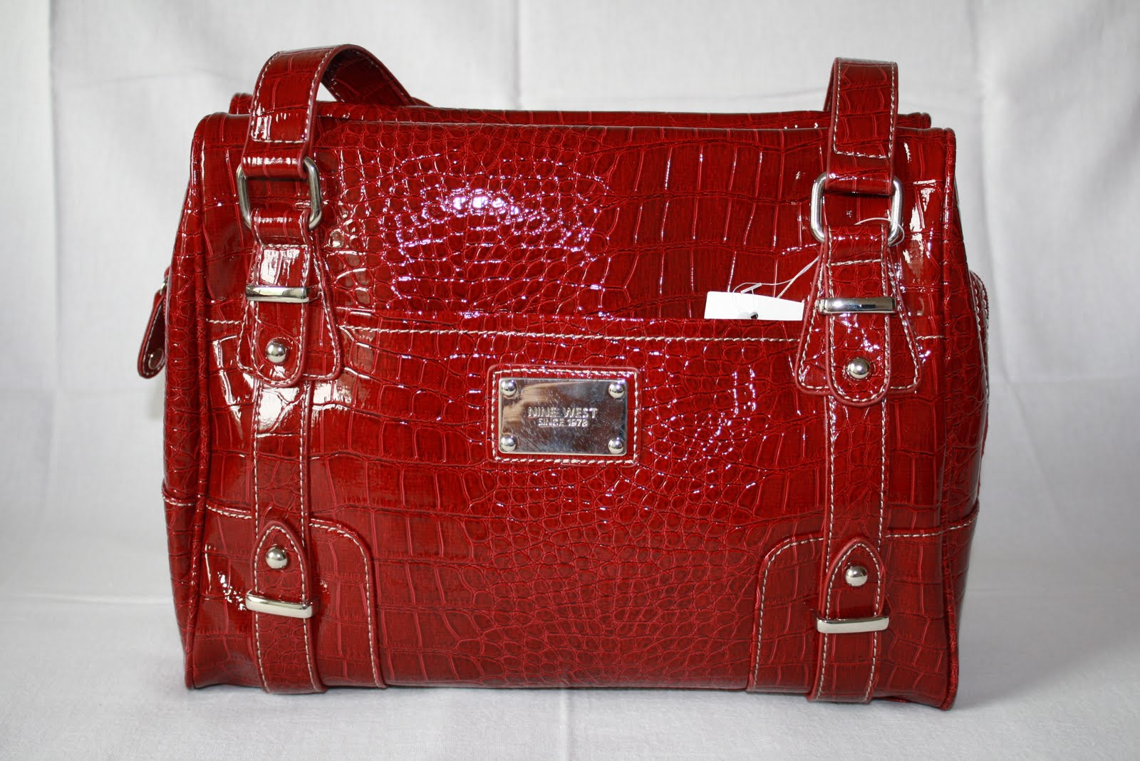 Red Nine West Purse In Handbags Totes Compare Prices Read