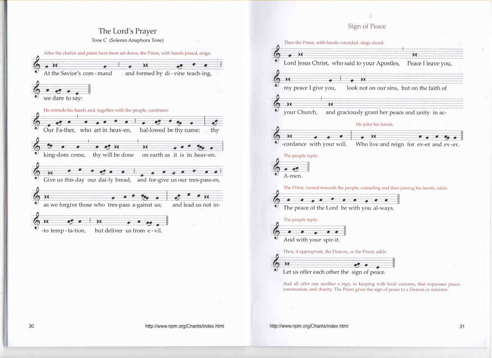 Welcome: New Roman Missal 3rd Edition ~ Booklet (in PDF