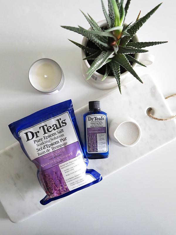 Product Review Dr Teals Epsom Salt Soak Foaming Bath In