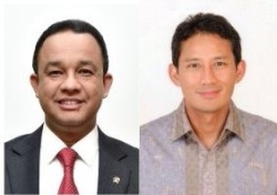 Pasangan Calon Gubernur dan Wakil Gubernur DKI Jakarta Tahun 2017
