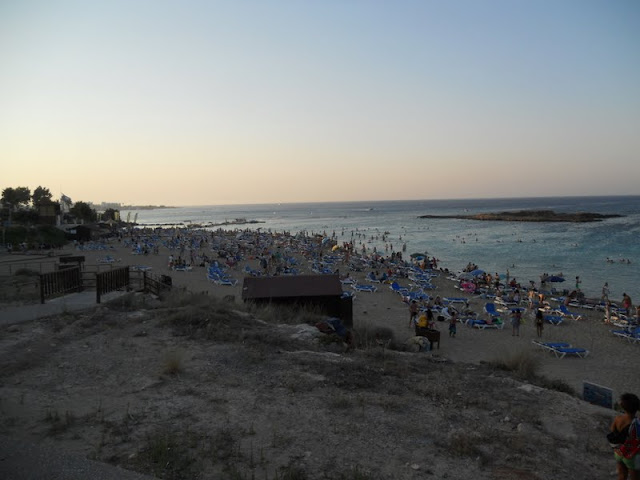Cyprus Road Trip: Fig Tree Bay at sunset