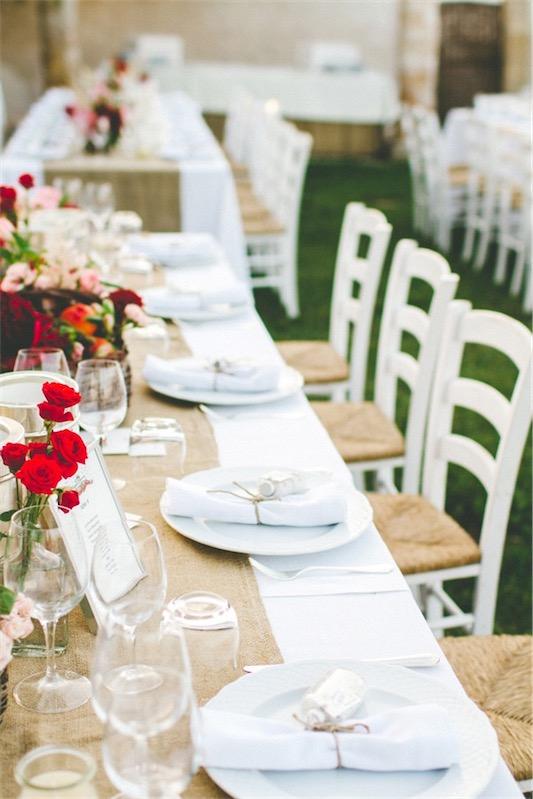 boda con toques mediterraneos chicanddeco