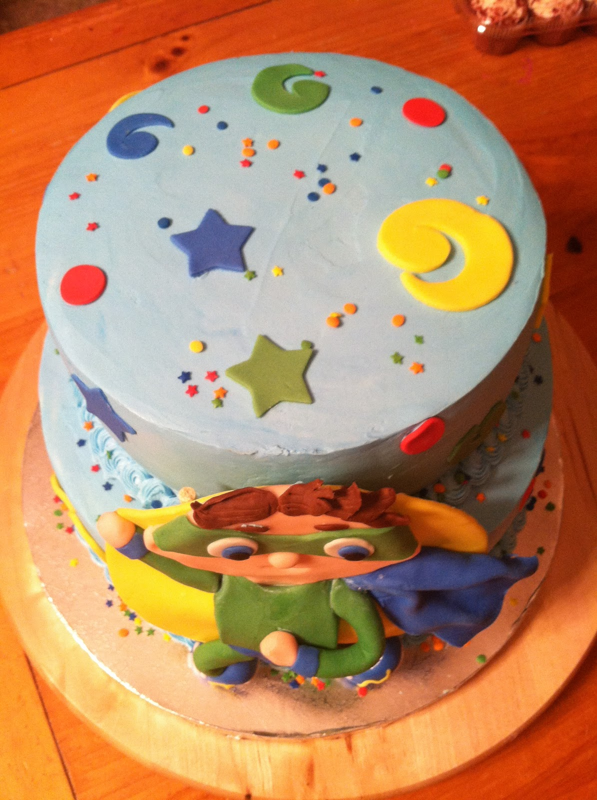 Introducing Super Why Cake For Cole S 1st Birthday