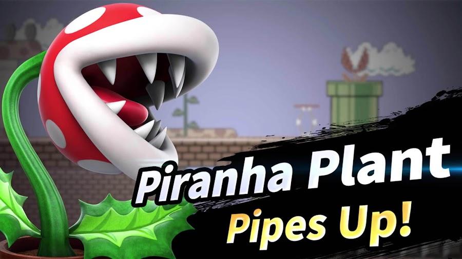 super smash bros ultimate pre order bonus piranha plant