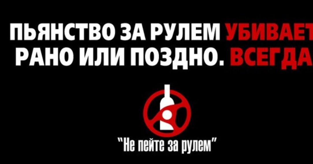 Профилактика алкоголизма за рулем