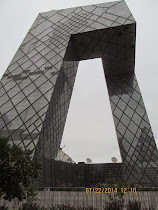Unique architecture and engineering of CCTV Tower Building, Beijing, China