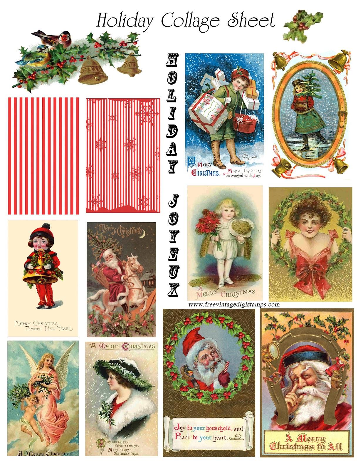Free Vintage Digital Stamps Free Vintage Printable