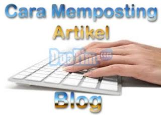 Cara Menulis Artikel Blog Agar Cepat Terindex Google