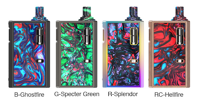 What Will You Get from IJOY MERCURY RESIN 12W AIO Pod System