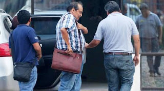 Gustavo Vargas Gamboa fue arrestado en las oficinas de la compañía aérea, en Santa Cruz de la Sierra.