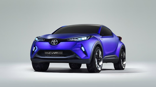 2015 Toyota C HR Concept | Wall Sports Cars
