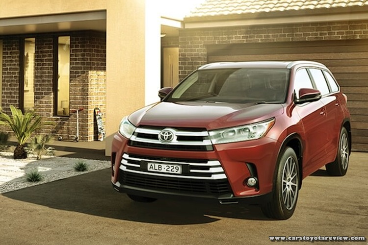 Toyota Kluger 2018 Release Date Australia