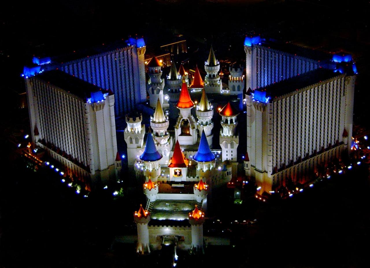 Las Vegas Uk Focus On Excalibur Hotel And Casino
