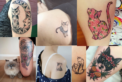 40 Cat Tattoos You're Definitely Going to Want