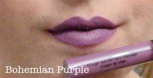 sephora cream lip stain bohemian purple