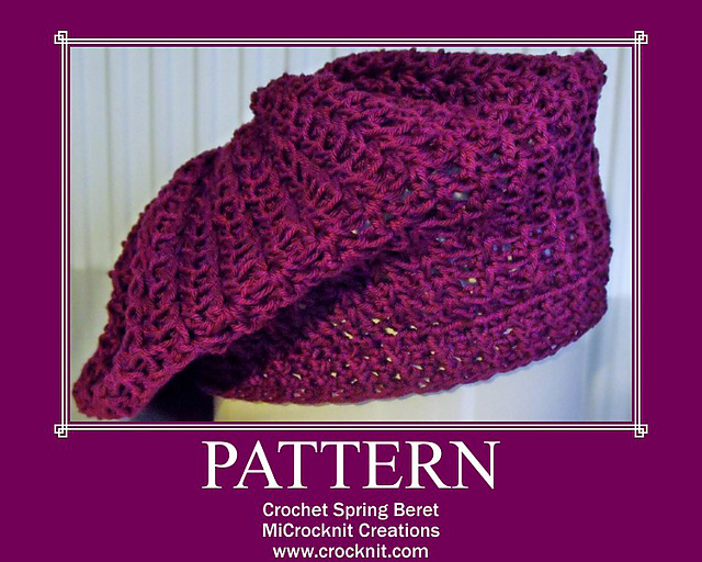 free crochet patterns, how to crochet, berets, hats, beanies,