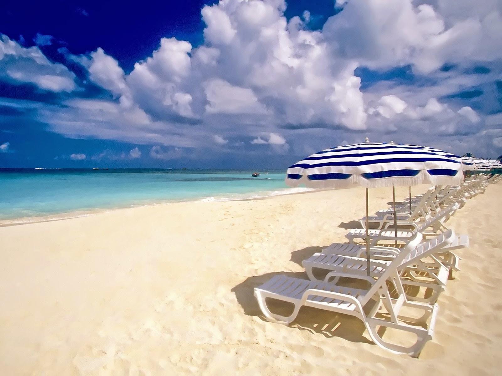 Summer-beach Chair Wallpapers HD