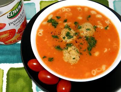 zupa pomidorowa z beszamelem