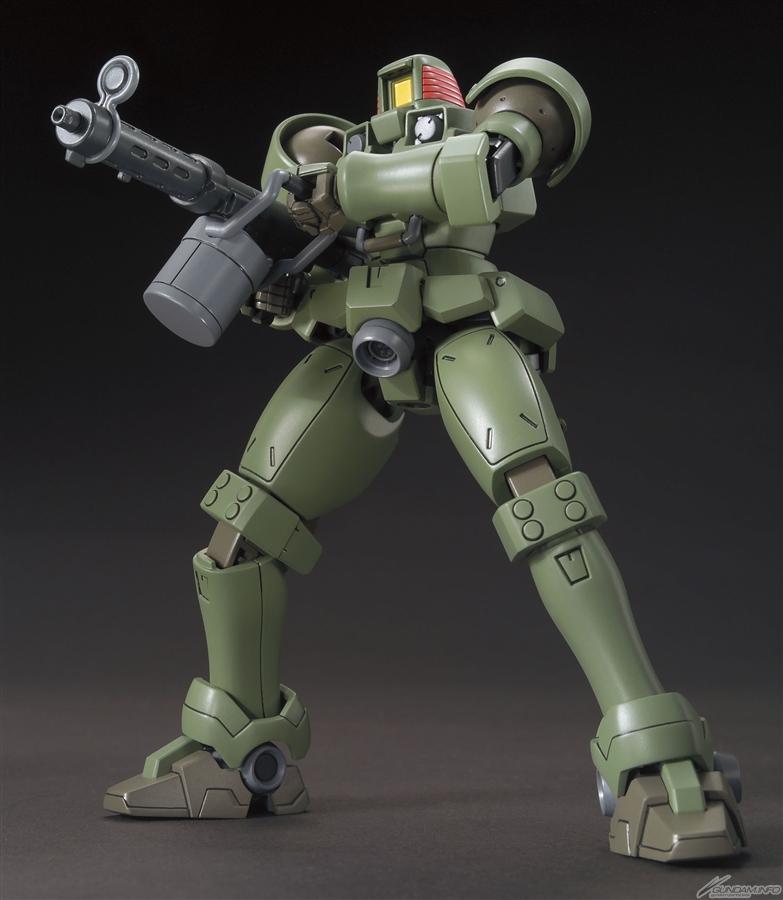 HGAC 1/144 OZ-06MS Leo pose