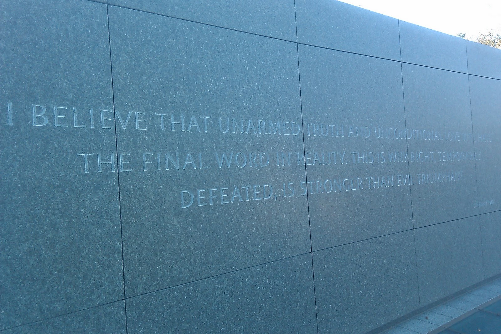 Martin Luther King Jr Quote Unarmed Truth