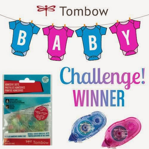 I won the 2015 Tombow Baby Challenge
