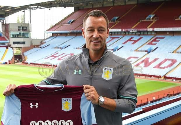 John Terry bergabung dengan Aston Villa