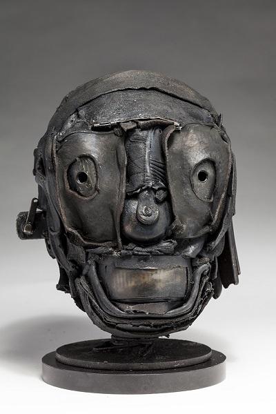 "Ronald Gonzalez - ""Skull"" - 2018 | imagenes obras de arte contemporaneo tristes, depresion, esculturas chidas, creative emotional sad art figurative pictures, cool stuff, deep feelings"