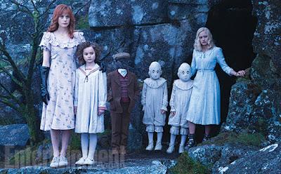 miss peregrine, ransom riggs, niños, portada, tim burton, eva green, pelicula, trailer,