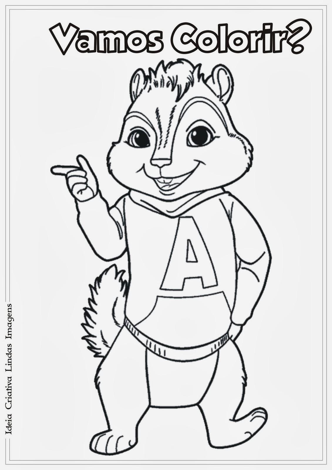 Como Desenhar Alvin E Os Esquilos