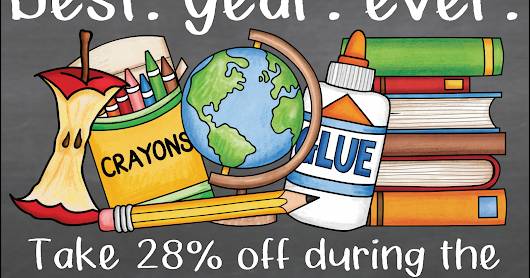 Best. Year. Ever. - TpT SITEWIDE Sale :)