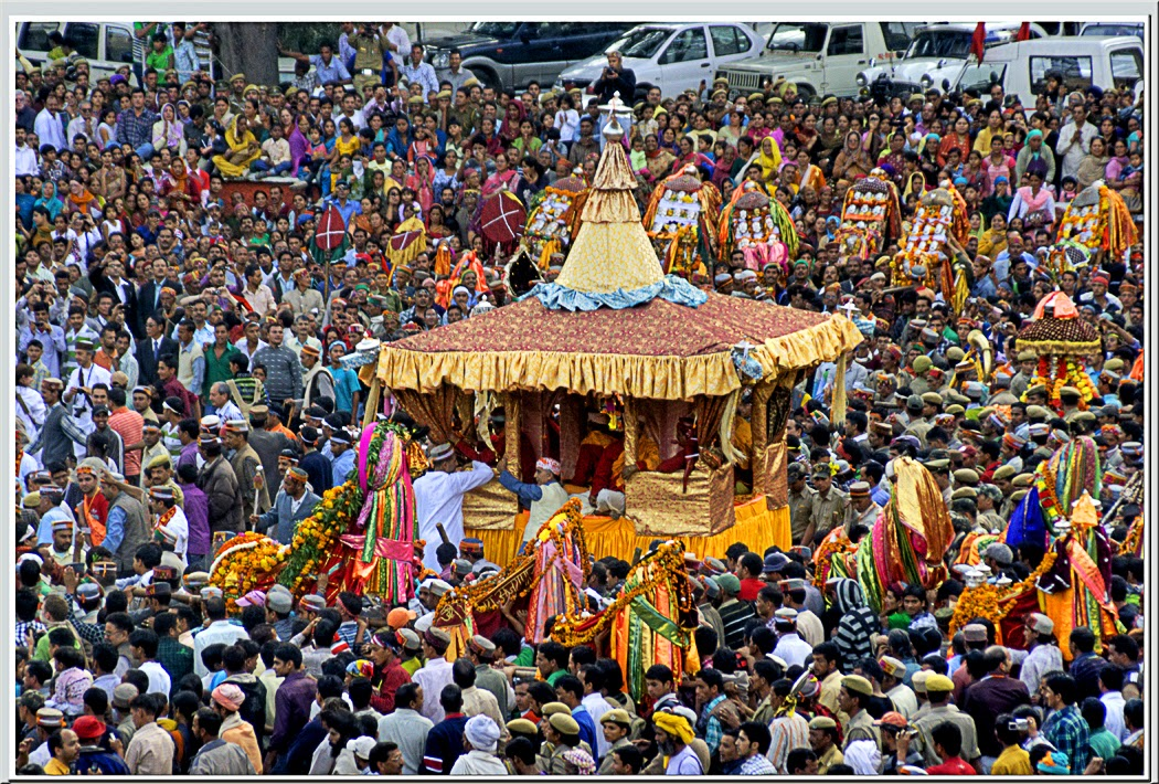 Dussehra celebrations in Kullu, Himachal Pradesh