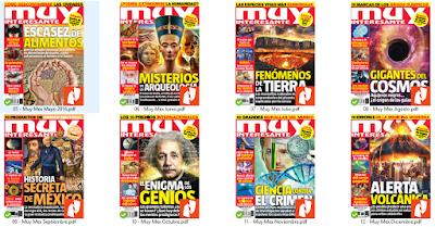 Colección Revista Muy Interesante México 2016