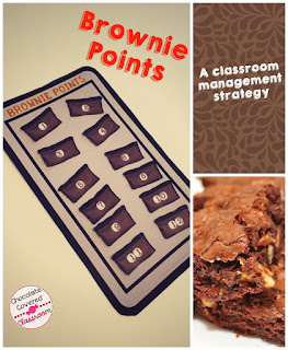 Brownie Points- A classroom management strategy to reinforce positive behaviours