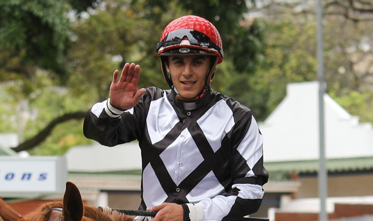 Keagen De Melo - South African horse racing jockey