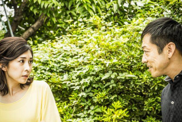 Yasuko (Yûko Takeuchi) et Nishino (Teruyuki Kagawa) dans Creepy