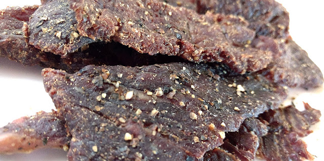 cracked black pepper beef jerky