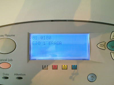 printer hp error when printer