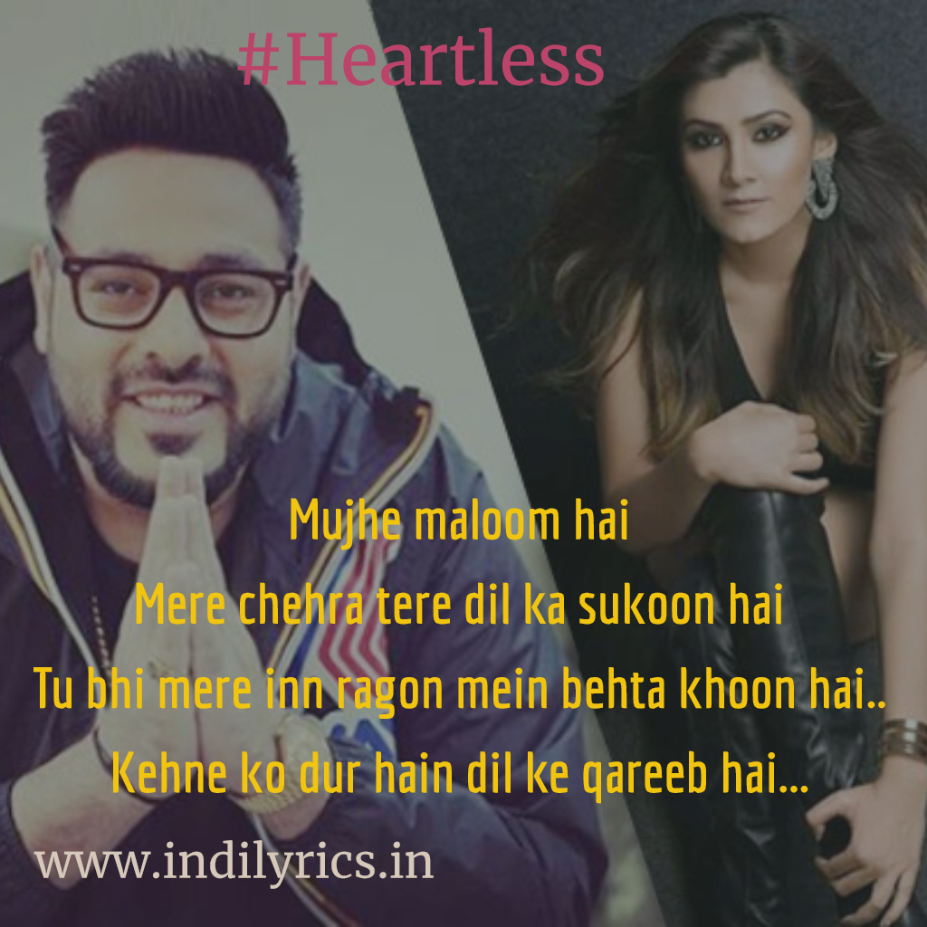 Badshah Menu Tu Leja Mp3: Mainu Tu Leja Kitthe Dur Mere Haniya... Heartless