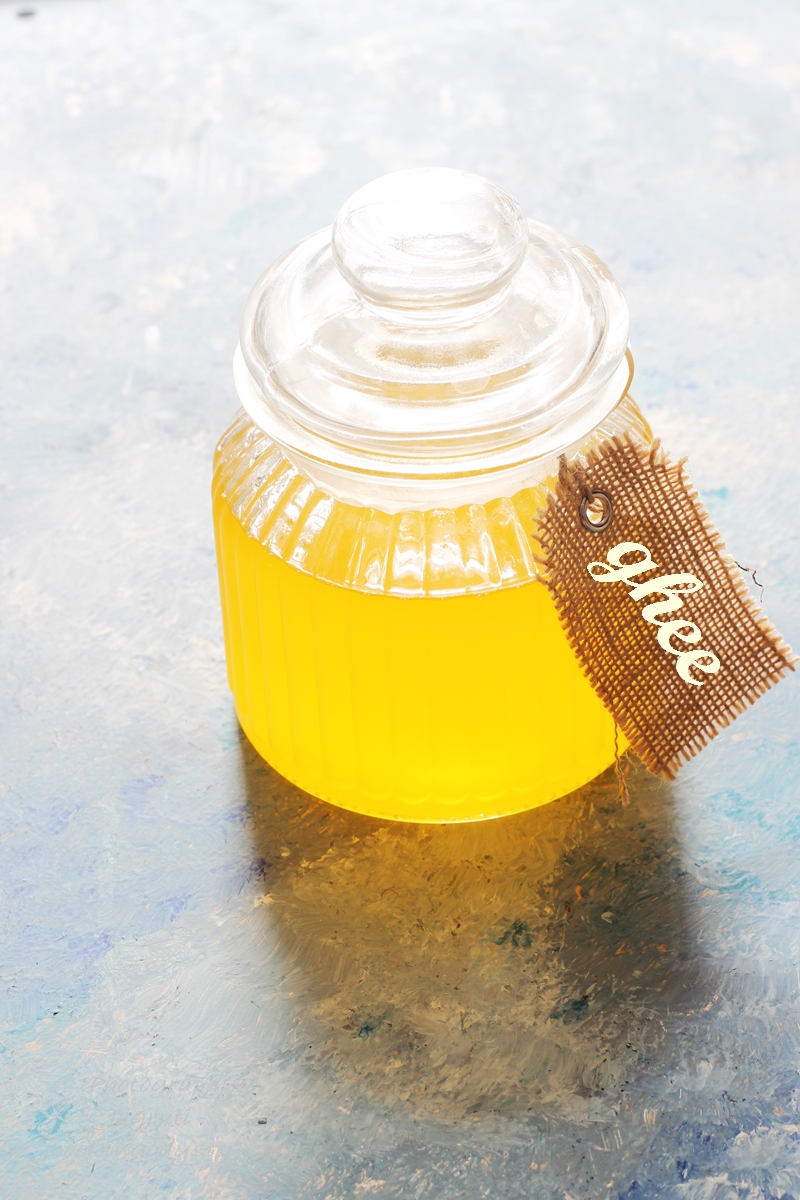 HOMEMADE DESI GHEE FROM BUTTER