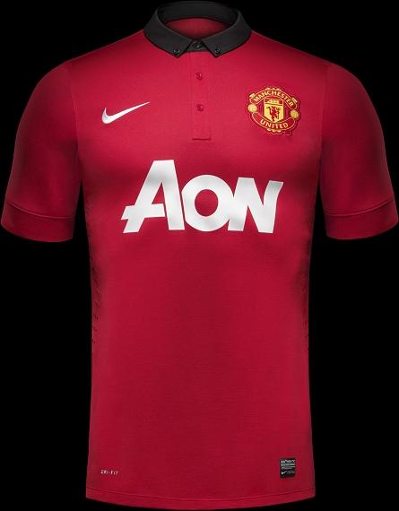 3cf7e330a4 Nike divulga camisas do Manchester United - Show de Camisas