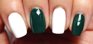 Green and White Base Colors